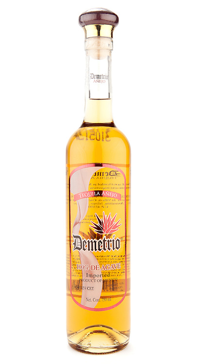 Demetrio Tequila Añejo -- Image originally appeared in the Tequila Matchmaker: http://tequilamatchmaker.com