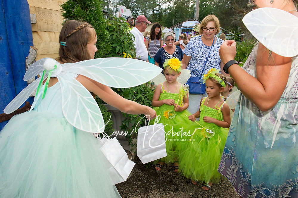 Fairy Night at Cackleberries Garden in Meredith, NH.  Karen Bobotas for the Laconia Daily Sun