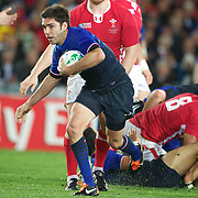 Dimitri Yachvili, France, in action during the Wales V France Semi Final match at the IRB Rugby World Cup tournament, Eden Park, Auckland, New Zealand, 15th October 2011. Photo Tim Clayton...