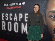 2019, Februari 22. Pathe ArenA, Amsterdam. Premiere van Escape Room. Op de foto: Tessa van Woudenberg