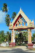 Temple entrance, Ko Samui, Thailand