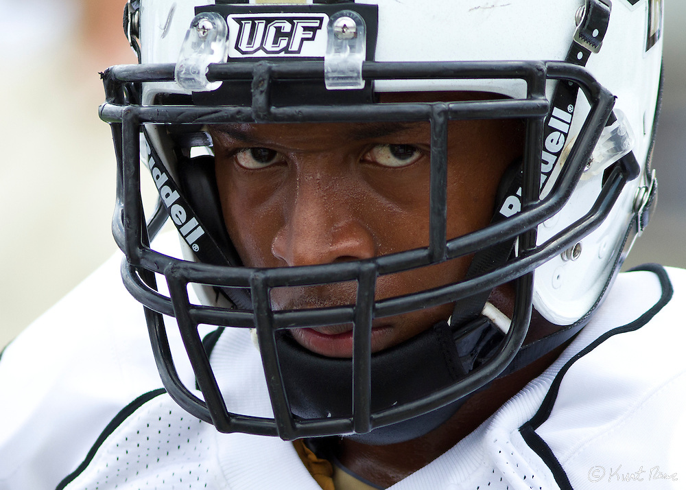 A UCF player during the Spring Football Game at Bright House Stadium, Orlando, FL on April 16, 2011.  ..