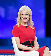 Kellyanne Conway speaking at the  Conservative Political Action Conference (CPAC)
