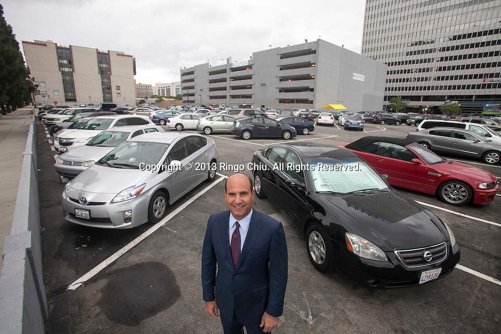 Michael Burke, president of Aecom Technology Corp. (Photo by Ringo Chiu/PHOTOFORMULA.com)