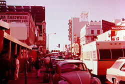 Nevada - Reno,  circa 1968<br /> <br />  Photos taken by George Look.  Image started as a color slide.