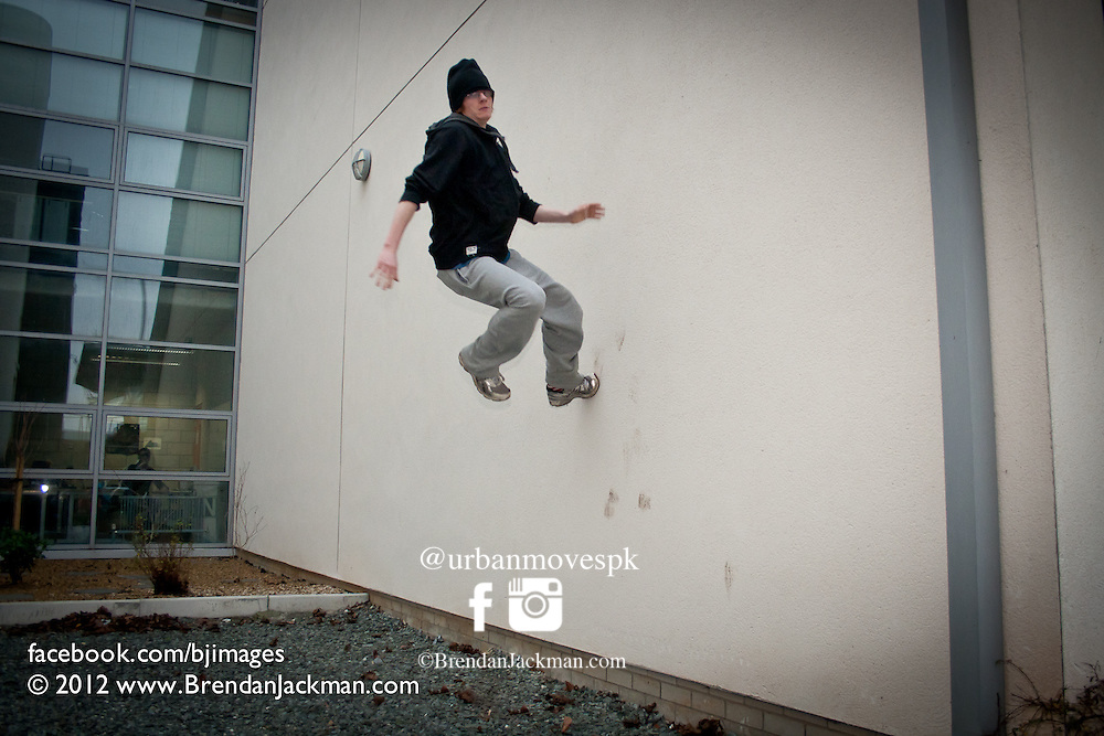 Parkour/Freerunning session in Waterford
