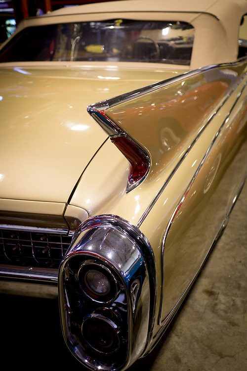 DORAL, FLORIDA, DECEMBER 11, 2015<br /> Cadillac El Dorado in the showroom of The Garage, an exclusive auto store owned by Frank Torres, featuring extremely luxurious cars and vintage hard to find vehicles. Torres partnered with Alex Vega of The Auto Firm to cater to athletes and entertainers.<br /> (Photo by Angel Valentin/Freelance)