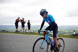 Sheyla Gutierrez Ruiz (ESP) with 100 metres to the top of Epynt, the final climb on Stage 5 of 2019 OVO Women's Tour, a 140 km road race from Llandrindod Wells to Builth Wells, United Kingdom on June 14, 2019. Photo by Sean Robinson/velofocus.com