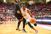 LUBBOCK, TX - MARCH 1: Keenan Evans #12 of the Texas Tech Red Raiders goes to the basket during the game against the Texas Longhorns on March 1, 2017 at United Supermarkets Arena in Lubbock, Texas. Texas Tech defeated Texas 67-57. (Photo by John Weast/Getty Images) *** Local Caption *** Keenan Evans