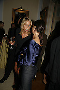 Wendy  Knatchbull, PARTY AFTER THE OPENING OF THE ANISH KAPOOR EXHIBITION AT THE LISSON GALLERY. Duchess Palace, 16 Mansfield St. London. W1. 10 October 2006. -DO NOT ARCHIVE-© Copyright Photograph by Dafydd Jones 66 Stockwell Park Rd. London SW9 0DA Tel 020 7733 0108 www.dafjones.com