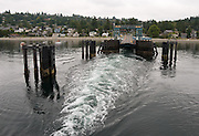 Fauntleroy ferry dock, West Seattle, Washington.