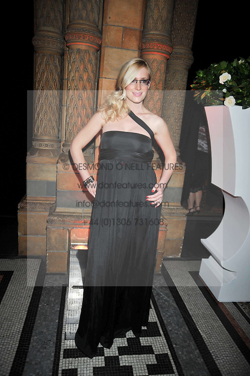 NIKKI HAMILTON-JONES at the 30 Days of Fashion & Beauty Gala Party sponsored by Boots in aid of Breast Cancer Care held at the Natural History Museum, London on 21st September 2009.
