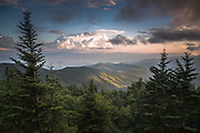 Sunset from Clingman's Dome - Great Smoky Mountains, Tennessee