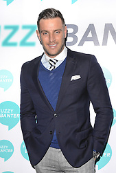 Elliott Wright attends launch party of Fuzzy Banter a new dating app which keeps users faces blurry untill they choose to reveal themselves to their matches. Held at La Sala, Chigwell Road, Essex on Monday 16 March 2015