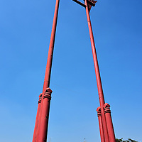 Giant Swing in Bangkok, Thailand <br />