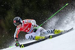 02.02.2020, Kandahar, Garmisch, GER, FIS Weltcup Ski Alpin, Riesenslalom, Herren, 1. Lauf, im Bild Fabian Gratz (GER) // Fabian Gratz of Germany in action during his 1st run of men's Giant Slalom of FIS ski alpine world cup at the Kandahar in Garmisch, Germany on 2020/02/02. EXPA Pictures © 2020, PhotoCredit: EXPA/ Johann Groder