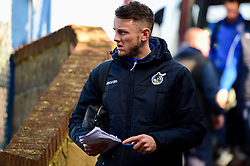 Ollie Clarke of Bristol Rovers arrives at Roots Hall prior to kick off - Mandatory by-line: Ryan Hiscott/JMP - 02/02/2019 - FOOTBALL - Roots Hall - Southend-on-Sea, England - Southend United v Bristol Rovers - Sky Bet League One
