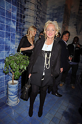 AMANDA ELIASCH at the Prada Congo Art Party hosted by Miuccia Prada and Larry Gagosian at The Double Club, 7 Torrens Street, London EC1 on 10th February 2009.