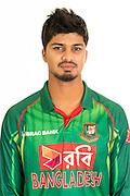 Nurul Hasan Sohan, Bangladesh cricket team headshots ahead of their New Zealand tour. Cobham Oval, Whangarei. 21 December 2016. Copyright Image: Heath Johnson / www.photosport.nz