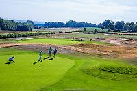 GROESBEEK  - green Noord 5 en Oost 5 ,  Golf op Rijk van Nijmegen.   COPYRIGHT KOEN SUYK