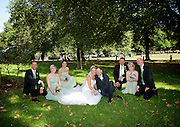 Blessing ceremony of Melonie Laubscher and Chris Johansson on Friday 18th July 2014 at the Holy Trinity Church, Clapham Common, London, Great Britain <br />