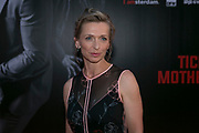 AMSTERDAM, THE NETHERLANDS. 2017, AUGUST 14. Tine Joustra at the Dutch premiere of Hitman's Bodyguard at Pathe ArenA.