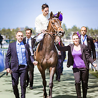 La Cressonniere (C. Demuro) wins Poule d'Essai des Pouliches 15/05/2016