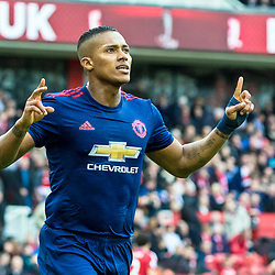 Antonio Valencia of Manchester United celebrates his goal.Middlesborough v Manchester United, Barclays English Premier League, 19th March 2017. (c) Paul Cram | SportPix