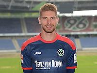 German Soccer Bundesliga 2015/16 - Photocall of Hannover 96 on 13 July 2015 in Hanover, Germany: goalie Ron-Robert Zieler