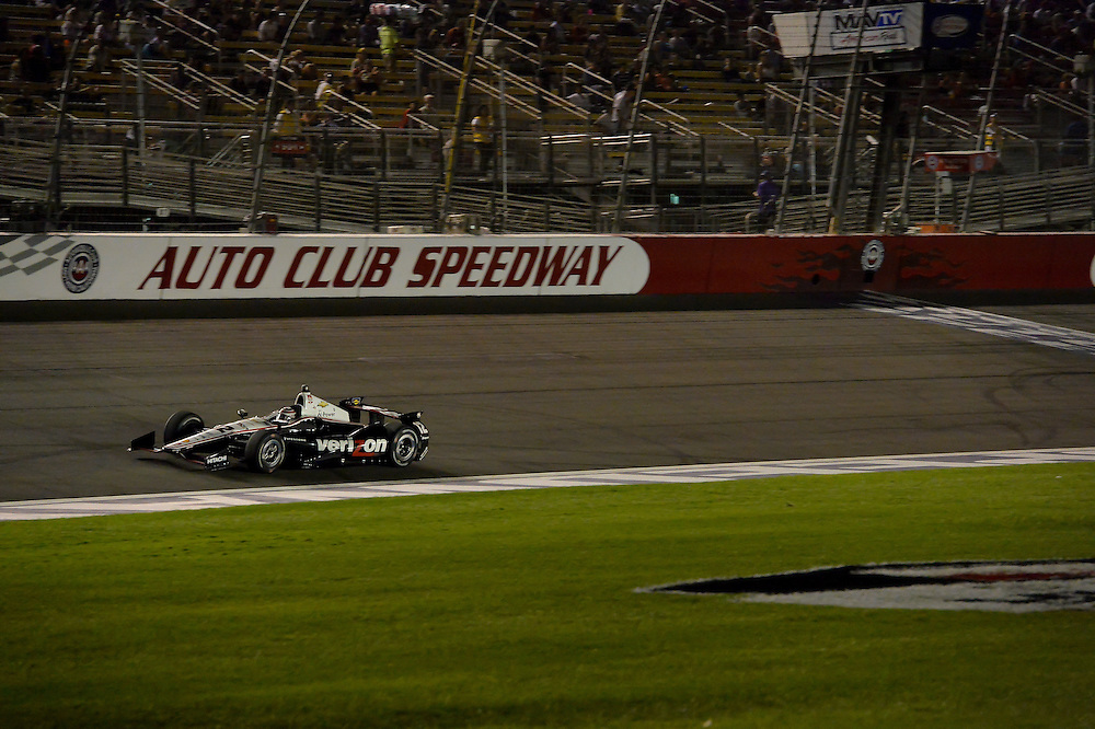Will Power, Auto Club Speedway, Fontana, CA USA 8/30/2014