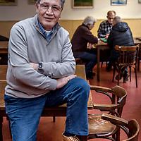 Nederland, Amsterdam, 10 maart 2017.<br /> Mustafa Ayeanci,  voorzitter Turkse Arbeidersvereniging in Nederland (HTIB). <br /> <br /> Foto: Jean-Pierre Jans