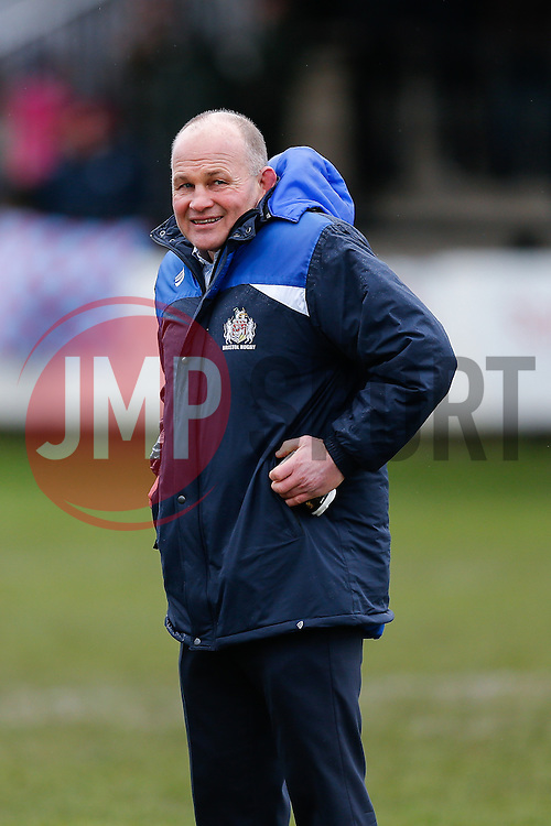 Bristol Rugby Director of Rugby Andy Robinson looks on - Mandatory byline: Rogan Thomson/JMP - 06/02/2016 - RUGBY UNION - Clifton Lane - Rotherham, England - Rotherham Titans v Bristol Rugby - Greene King IPA Championship.