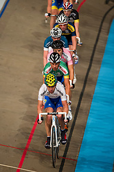 08-01-2012 WIELRENNEN: RABOBANK ZESDAAGSE: ROTTERDAM<br /> (Voor-Achter) Leon van Bon, Peter Schep, Jeff Vermeulen, Iljo Keisse<br /> (c)2012-FotoHoogendoorn.nl / Peter Schalk