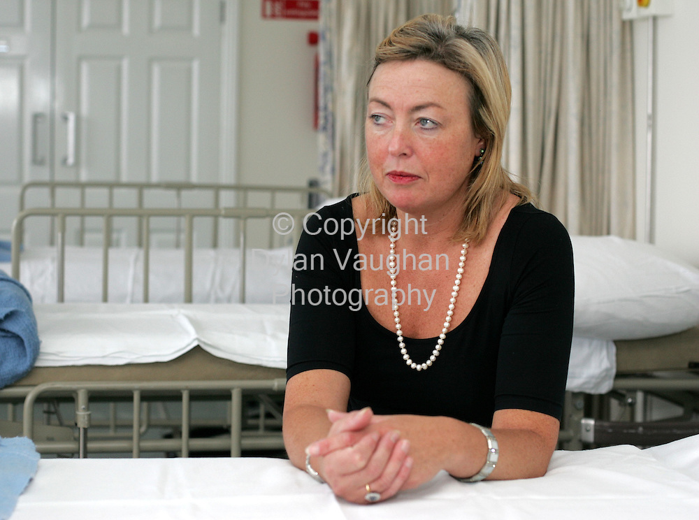 18/9/2004.Feelgood.Dr Martine Millett-Johnston of the Kilkenny Clinic.Picture Dylan Vaughan