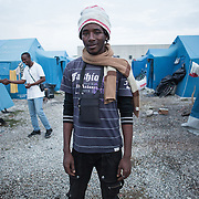 Amaduo Jawo, 27 years old is a migrant from Gambia that lives at the Tendopoli camp, 11 km from Rosarno, Calabria. He has lived in Italy a year and four months, which he spent between detention centers. He is searching for jobs mainly picking up mandarins