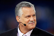 ESPN analyst Matt Millen smiles on the set of ESPN Monday Night Countdown prior to the Chicago Bears NFL regular season week 3 football game against the Green Bay Packers on September 27, 2010 in Chicago, Illinois. The Bears won the game 20-17. ©Paul Anthony Spinelli