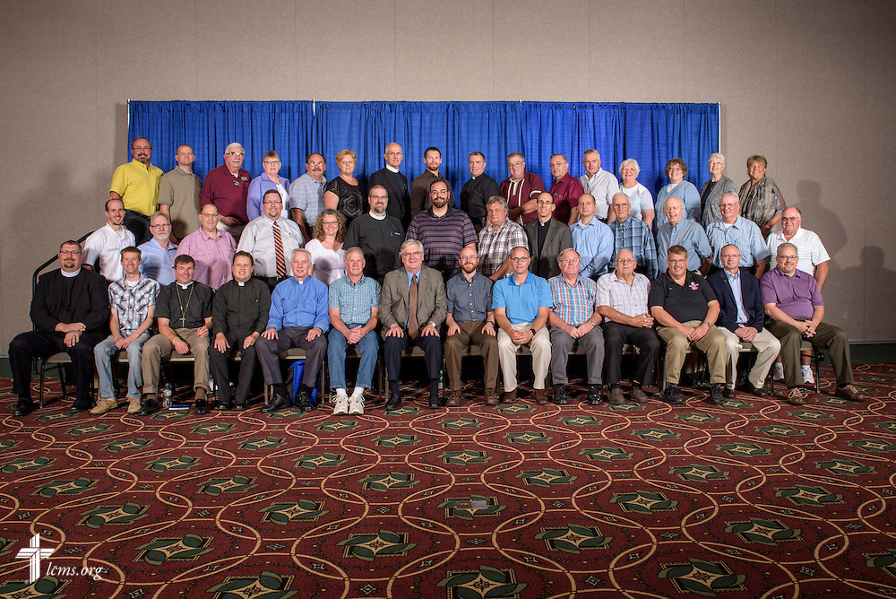 Minnesota South District group photograph on Tuesday, July 12, 2016, at the 66th Regular Convention of The Lutheran Church–Missouri Synod, in Milwaukee. LCMS/Frank Kohn
