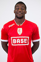 Standard's Geoffrey Mujangi Bia pictured during the 2015-2016 season photo shoot of Belgian first league soccer team Standard de Liege, Monday 13 July 2015 in Liege.