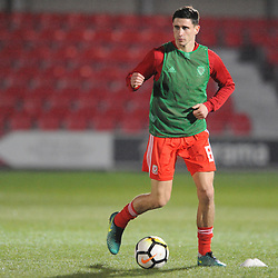 19/3/2019 - Aeron Edwards(TNS) during the C International between England and Wales at the Peninsula Stadium, Salford.<br /> <br /> Pic: Mike Sheridan/County Times<br /> MS023-2019