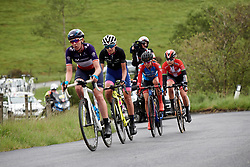 Erica Magnaldi (ITA) in the break at Stage 5 of 2019 OVO Women's Tour, a 140 km road race from Llandrindod Wells to Builth Wells, United Kingdom on June 14, 2019. Photo by Sean Robinson/velofocus.com