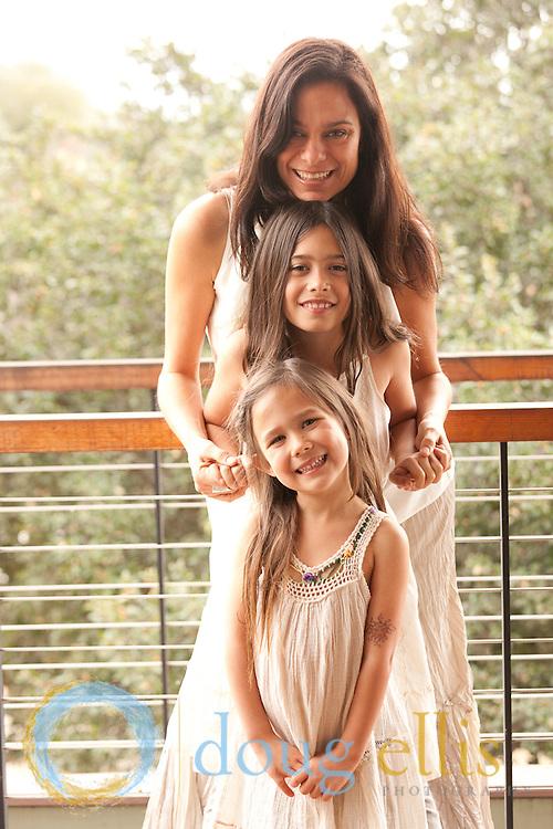Satya Reyes, Ciela and Prema OJai CA