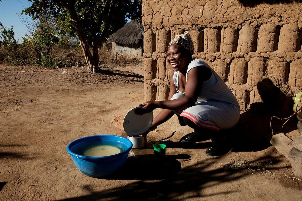 Chabota village, Chisekese ward, Zambia.