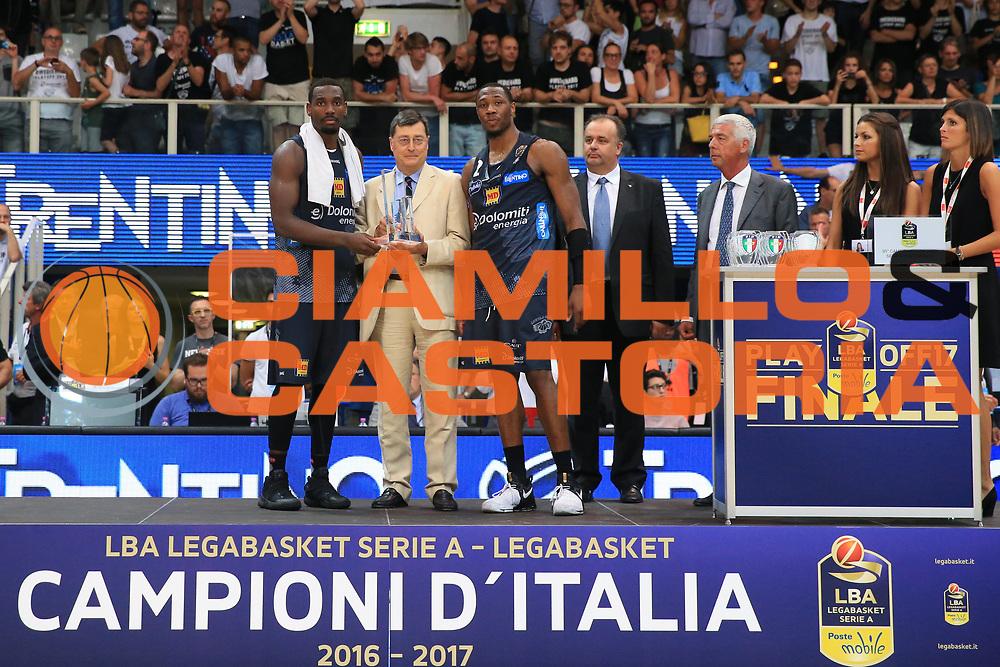 Umana Reyer Venezia - Dolomiti energia Trento<br /> Lega Basket Serie A 2016/2017<br /> Play Off Finale Gara 6 <br /> Trento 20/06/2017<br /> Foto Ciamillo-Castoria/A. Gilardi