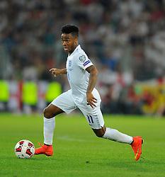 England's Raheem Sterling (Liverpool) - Photo mandatory by-line: Joe Meredith/JMP - Mobile: 07966 386802 - 08/09/14 - SPORT - FOOTBALL - Switzerland - Basel - St Jacob Park - Switzerland v England - Uefa Euro 2016 Group E Qualifier