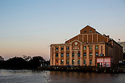 Porto Alegre_RS, Brasil.<br /> <br /> Usina do Gasometro e o Rio Guaiba em Porto Alegre, Rio Grande do Sul.<br /> <br /> Usina do Gasometro and Guaiba river in Porto Alegre, Rio Grande do Sul.<br /> <br /> Foto: RODRIGO LIMA / NITRO