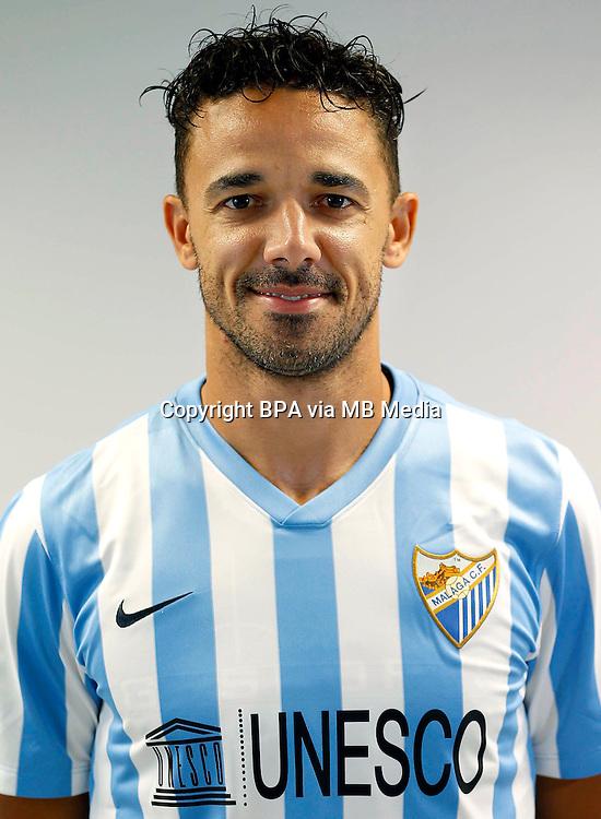 Spain - La Liga BBVA  2014-2015 / <br /> ( Malaga C.F. ) - <br /> Weligton Robson Pena de Oliveira