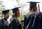 Undergraduate Commencement. Photo by Ben Siegel