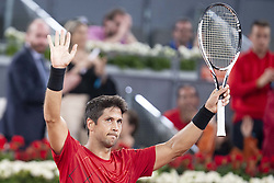 May 8, 2018 - Madrid, Spain - Spanish Fernando Verdasco during Mutua Madrid Open 2018 at Caja Magica in Madrid, Spain. May 09, 2018. (Credit Image: © Coolmedia/NurPhoto via ZUMA Press)
