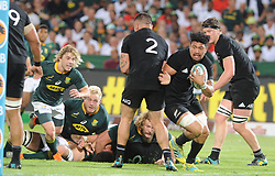 Pretoria, Loftus Versveld Stadium. Rugby Championship. South African Springboks vs New Zealand All Blacks.  06-10-18 All Black player Ardie Savea breaks clear.<br /> Picture: Karen Sandison/African News Agency(ANA)