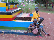 Gulu, Uganda, 2004. St Joseph's College in nearby Layibi. The all boys school is seen as a safe place for children during this era of fear of Joseph Kony's Lord's Resistance Army.